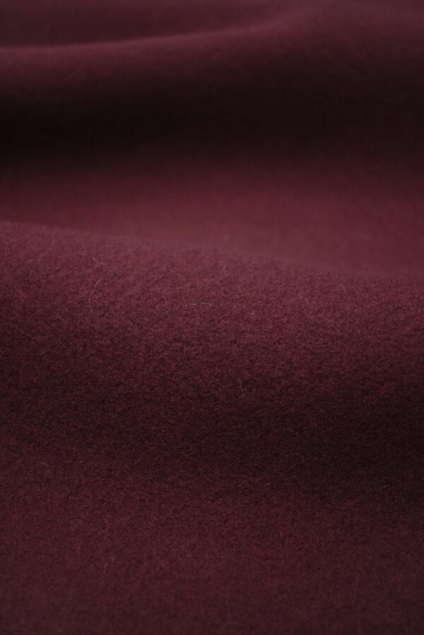 Пальтовая шерсть бордового цвета (8954) - Фото 10