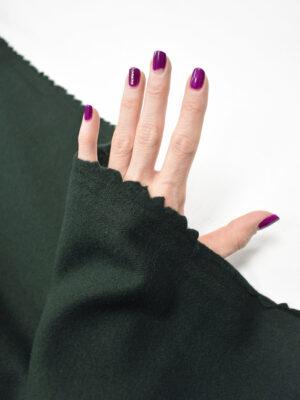 Пальтовая шерсть темно-зеленого оттенка (8955) - Фото 16