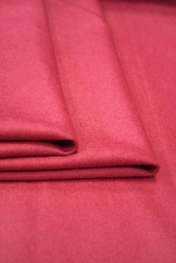 Твид неопрен розовый с темно-синей изнанкой (9391) - Фото 7