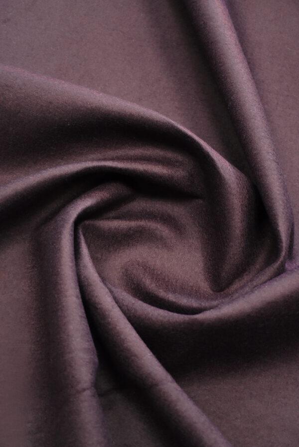 Твид неопрен пыльно-лиловый с черным (9341) - Фото 10