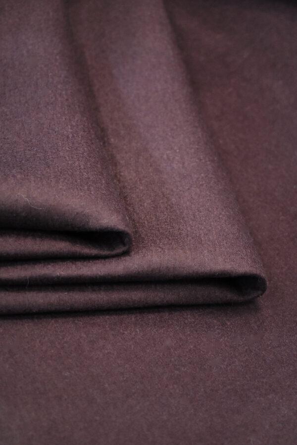 Твид неопрен пыльно-лиловый с черным (9341) - Фото 9