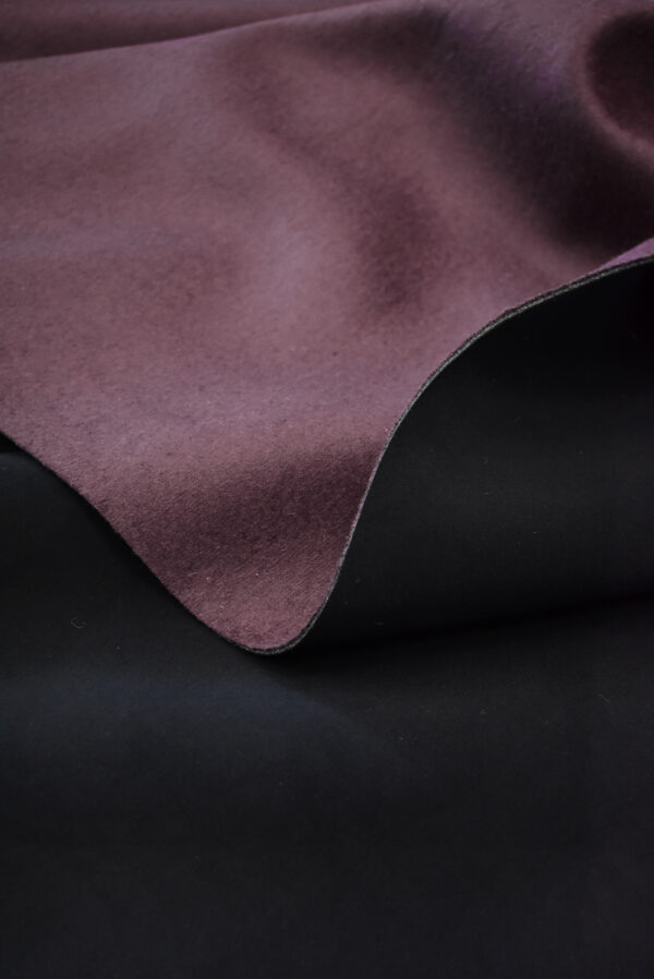 Твид неопрен пыльно-лиловый с черным (9341) - Фото 6