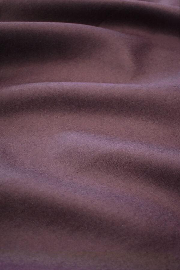 Твид неопрен пыльно-лиловый с черным (9341) - Фото 7