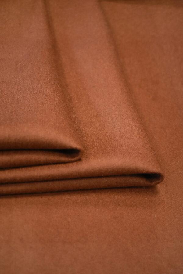 Твид неопрен терракотовый с черным (9342) - Фото 9
