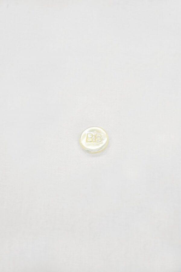 Пуговица перламутровая молочная ВВ пластик на ножке (p0842) к4 - Фото 6