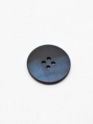 Пуговица пластик темно-синяя перламутровая на четыре прокола (р0945) - Фото 17