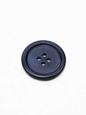 Пуговица пластик темно-синяя перламутровая на четыре прокола (р0945) - Фото 16