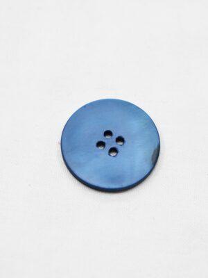 Пуговица пластик синяя перламутровая на четыре прокола (р0948) - Фото 13