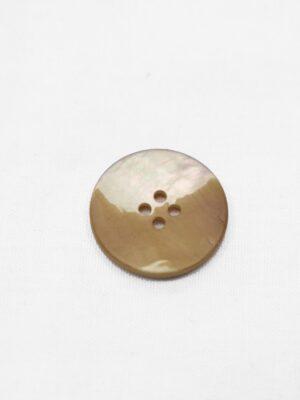 Пуговица пластик беж перламутровая на четыре прокола (р0951) - Фото 17