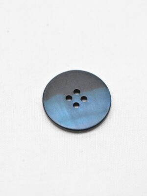 Пуговица пластик темно-синяя перламутровая на четыре прокола маленькая (р0952) - Фото 13