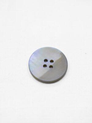 Пуговица пластик серо-голубая перламутровая на четыре прокола (р0953) - Фото 15