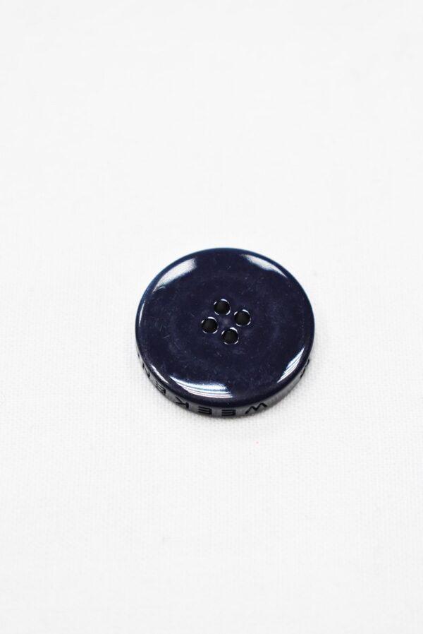 Пуговицы пластик темно-синие на четыре прокола (p0958) - Фото 7