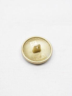 Пуговицы металл золото черная эмаль с узором (p0965) - Фото 16
