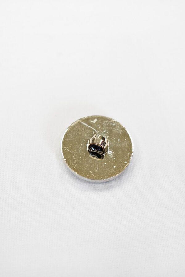 Пуговицы пластик эмаль черные с принцессой пальтовые 25мм (р1004) к19 - Фото 7