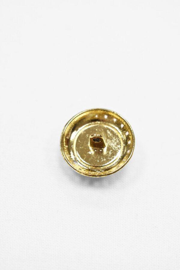 Пуговицы металл жемчужина в золотой оправе в виде цепи (p1028) к5 - Фото 7