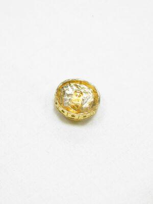 Пуговица металл золото эмаль черная желтая коричневая (p1069) - Фото 14