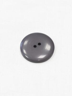 Пуговица пластиковая темно-серая на два прокола (р1129) - Фото 19
