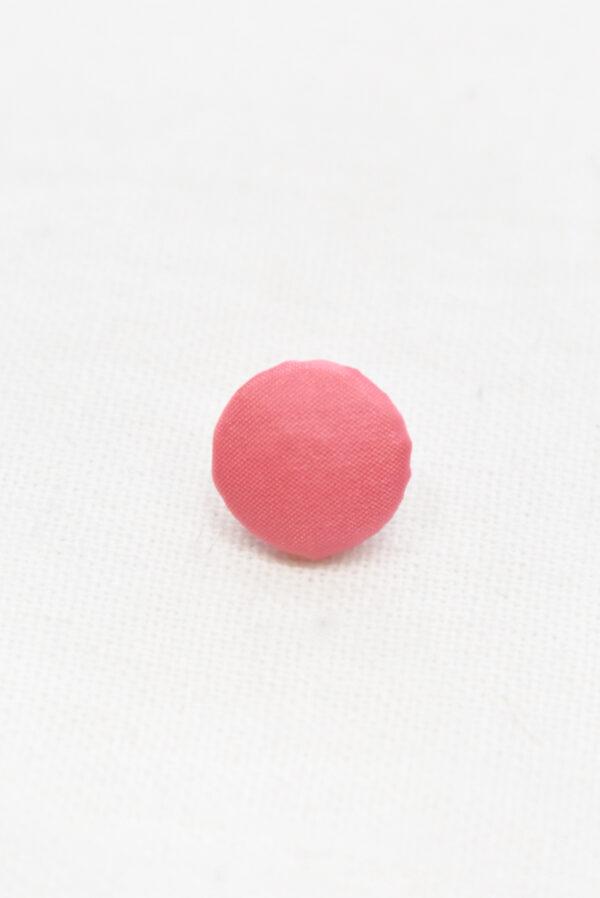 Пуговицы блузочные тканевые розового оттенка (р1135) - Фото 6