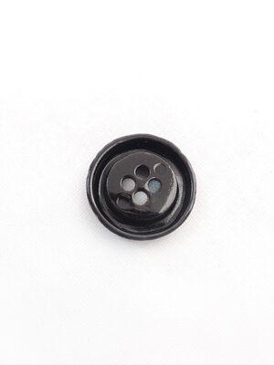 Пуговица металл на четыре прокола коричневая большая 1