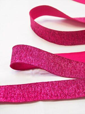 Подвязы резинка розовый оттенок люрексом (t0670) - Фото 10