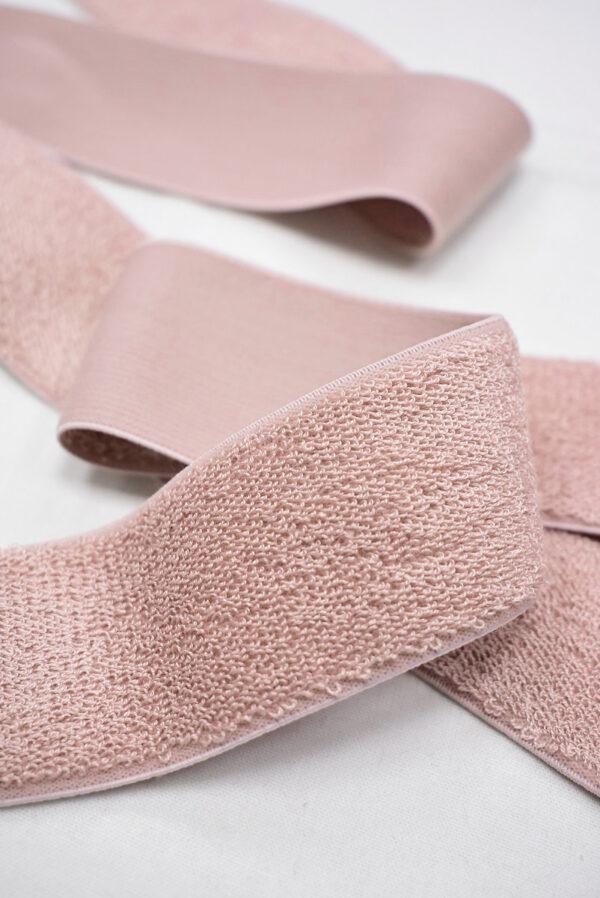 Резинка розовая с ворсом 2