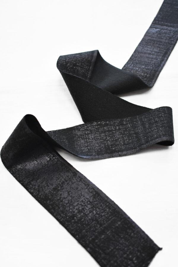 Подвязы черные с напылением (t0789) т-13 - Фото 6