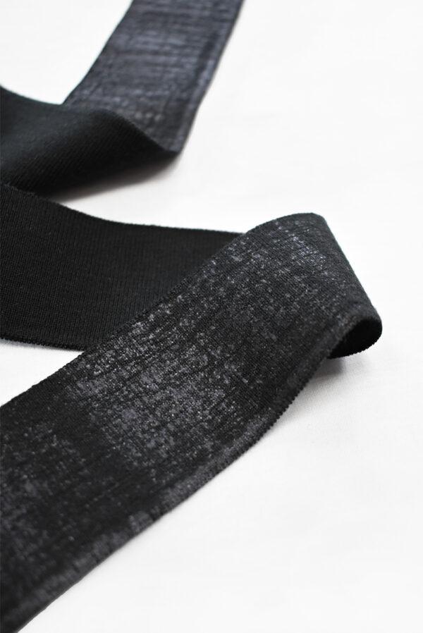 Подвязы черные с напылением (t0789) т-13 - Фото 7