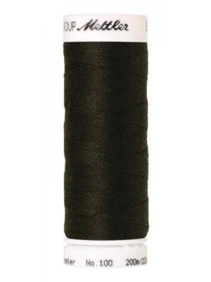Универсальная нить AMANN GROUP METTLER Германия, SERALON, 200 м (цвет черно-коричневый 0719) - Фото 13