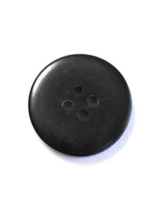 Пуговица большая пластик серого цвета с черным ободком (р1204) - Фото 11