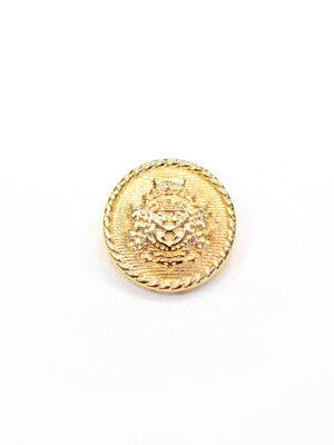 Пуговица металл золото с гербом (р1212) - Фото 12