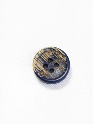 Пуговица пластик темно-синяя с бежевыми вкраплениями (р1215) - Фото 17