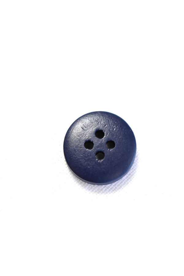 Пуговица пластик темно-синяя с бежевыми вкраплениями (р1215) - Фото 8