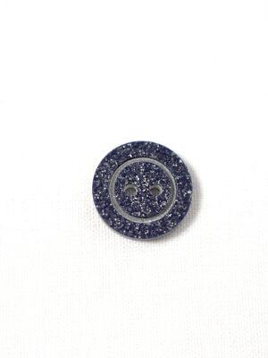 Пуговица пластик синяя с блестками на прокол (р1224) - Фото 19