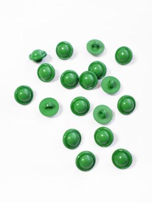 Пуговица пластик круглая зеленая на ножке (р1231) - Фото 11