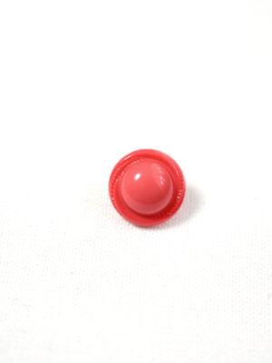 Пуговица пластик круглая коралл на ножке (р1232) - Фото 18