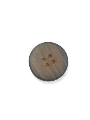Пуговица маленькая пластик коричневая с черным ободком (р1234) - Фото 15