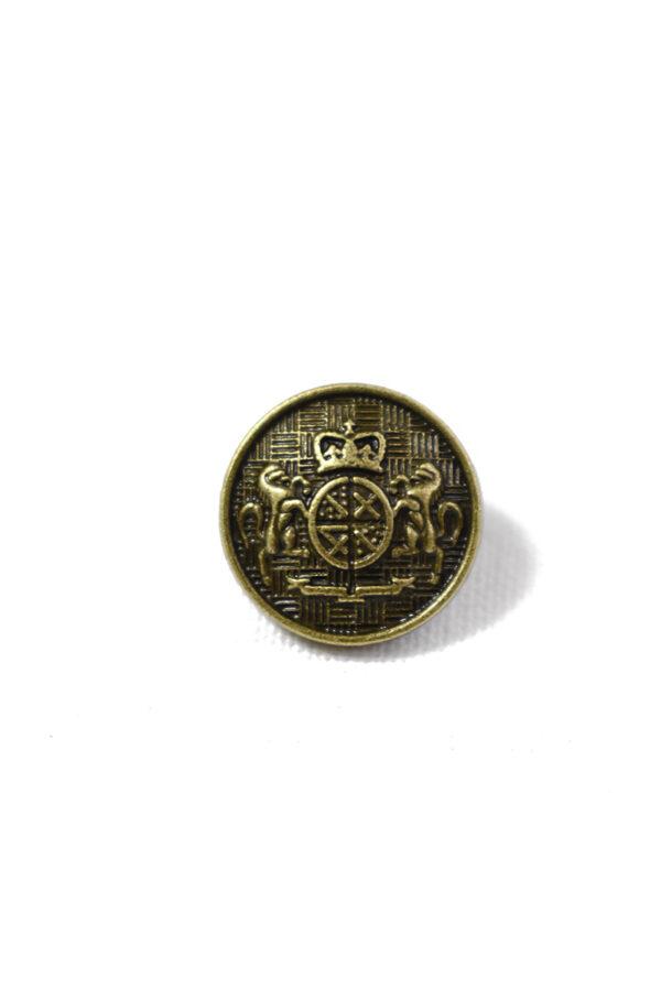 Пуговица металл на бронха с гербом (р1238) - Фото 6