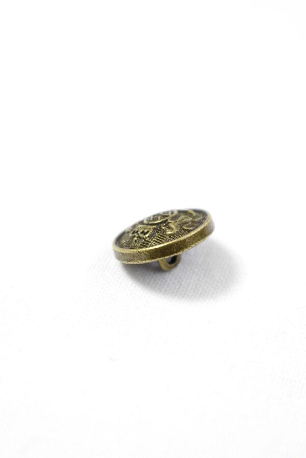 Пуговица металл на бронха с гербом (р1238) - Фото 7