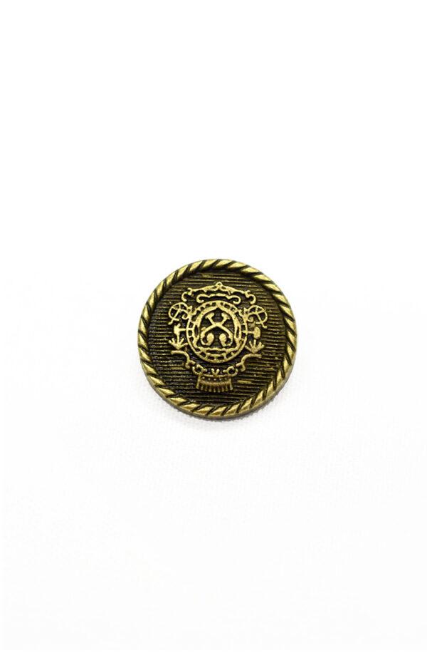 Пуговица металл бронза с гербом (р1242) - Фото 6