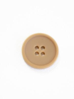 Пуговица пластик бежевая на прокол (р1245) - Фото 14
