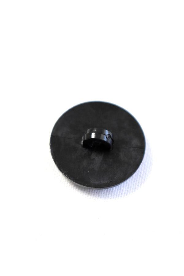 Пуговица пластик черная с резьбой (р1248) - Фото 7