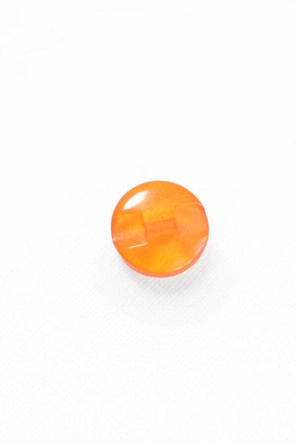 Пуговица пластик оранжевая полупрозрачная (р1253) - Фото 9