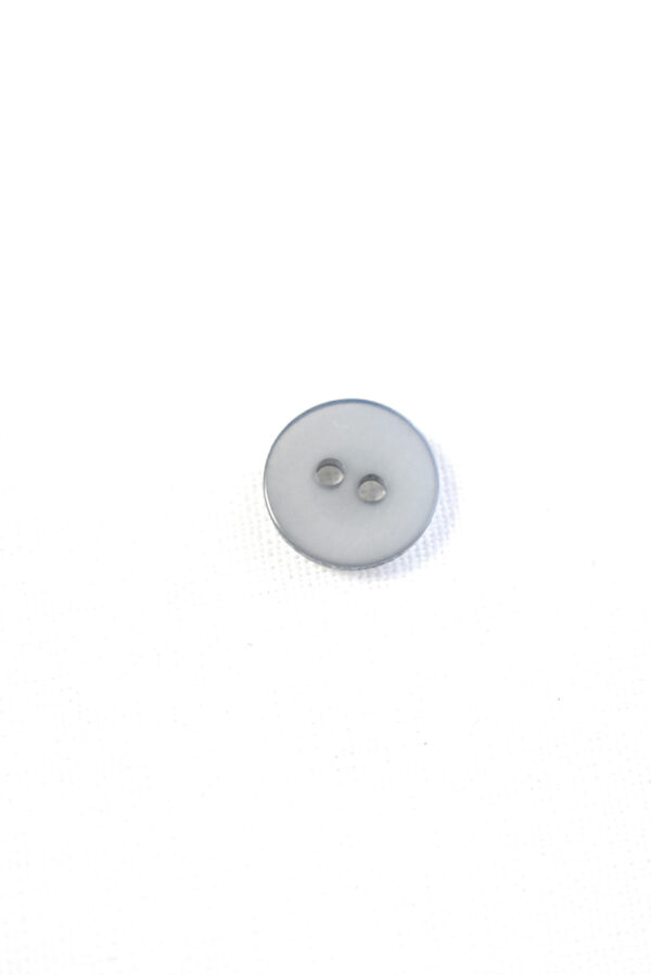 Пуговица пластик светло-серого оттенка (р1258) - Фото 8