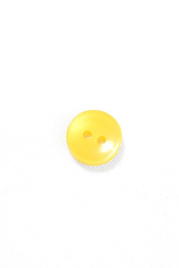 Пуговица пластик желтая полупрозрачная (р1270) - Фото 6