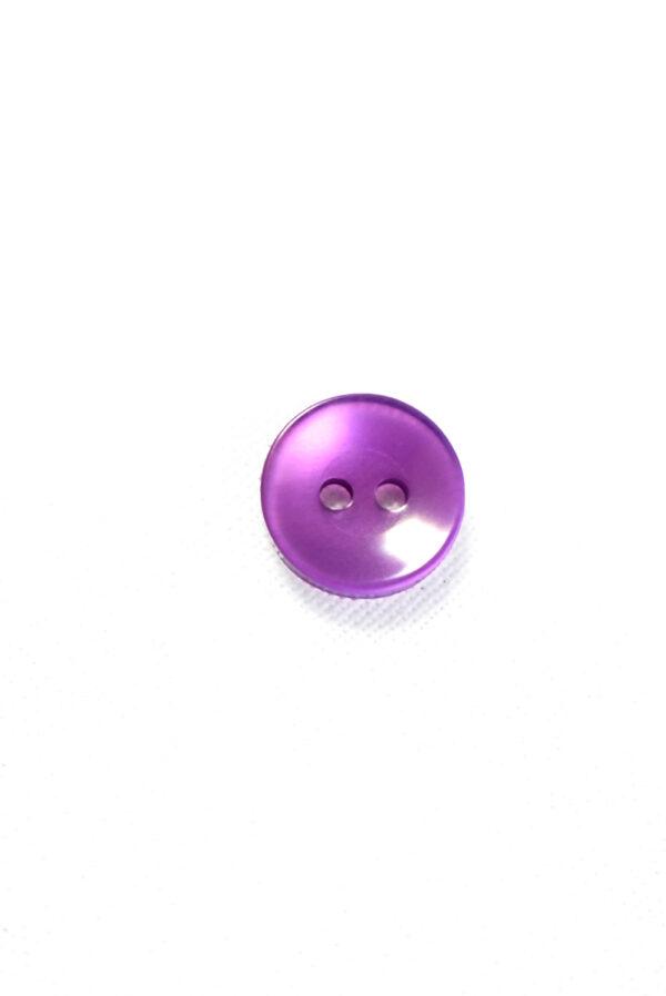 Пуговица пластик лиловая полупрозрачная (р1271) - Фото 6