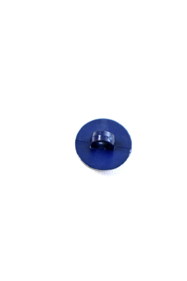 Пуговица пластик круглая темно-синяя на ножке (р1291) - Фото 8