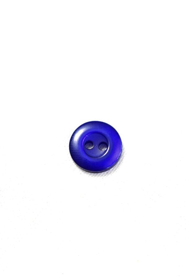 Пуговица пластик синего оттенка (р1321) - Фото 6