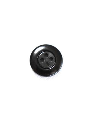 Пуговица пластик на прокол серая в мелкий ромбик с черной окантовкой (р1340) - Фото 13