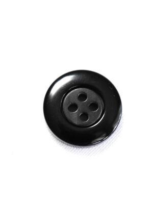 Пуговица пластик серая в мелкий ромбик с черной окантовкой (р1341) - Фото 13