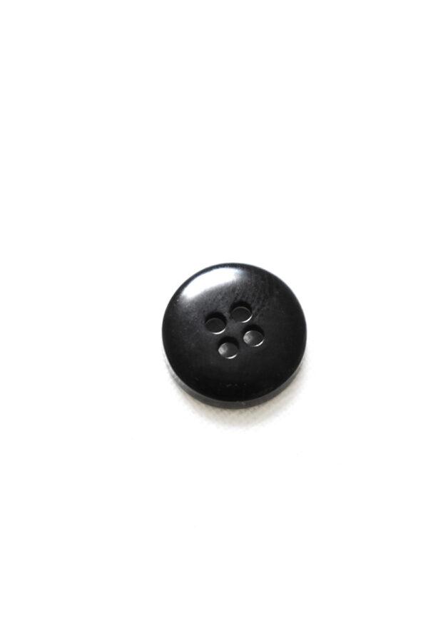 Пуговица пластик черная с надписью (р1345) - Фото 8